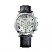 Hugo Boss - 1512573 - Montre Homme - Quartz Analogique - Bracelet cuir noir