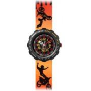 Flik Flak - ZFPS030 - Montre Garçons - Quartz - Analogique - Bracelet plastique Multicolore