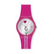 Swatch - GZ241 - Montre Fille - Quartz - Analogique - Bracelet plastique multicolore