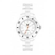 Ice Watch - CL.WE.B.P.09 - Montre Homme - Quartz Analogique - Cadran Blanc - Bracelet Plastique Blanc - Grand Modèle