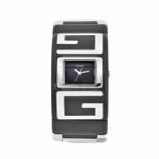 Guess - W12055L5 - Montre Femme - Quartz Analogique - Manchette - Bracelet Rigide en Résine Noir