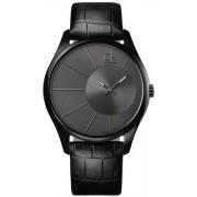 Calvin Klein - K0S21402 - Montre Homme - Quartz - Analogique - Bracelet cuir Noir