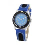 Cactus - CAC-26-M04 - Montre Enfant - Quartz - Analogique - Bracelet Caoutchouc Bleu