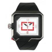 Quiksilver - M127LR/AWHT - Montre Homme - Quartz - Analogique - Rétro éclairage - Bracelet Caoutchouc Noir