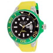 """Montre Jet Set Homme WB30 Diver """"Jamaica"""" Jaune - J55223-20"""