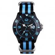 Montre Intimes Watch Noir/Bleu Sport  Nylon - IT-057N