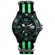 Montre Intimes Watch Noir/Vert Sport  Nylon - IT-057N