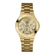 Guess - W13545L1 - Montre Femme - Quartz - Analogique - Bracelet Acier inoxydable doré