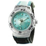 Kahuna - K1M-3025L - Montre sport Femme - Quartz analogique - Bracelet en velcro Bleu turquoise